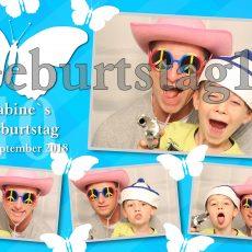Fotobox Geburtstag Party