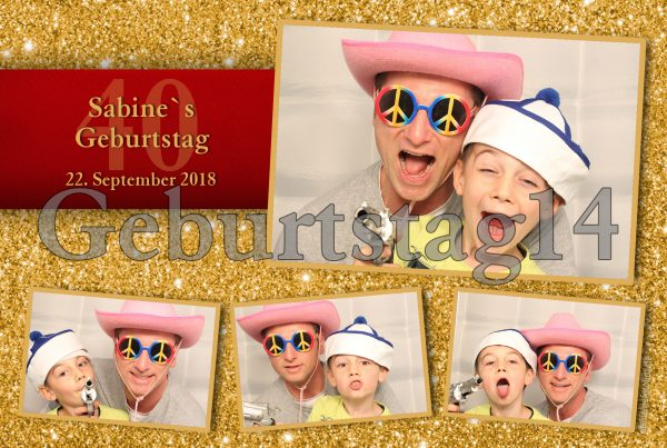 Fotobox mieten Party