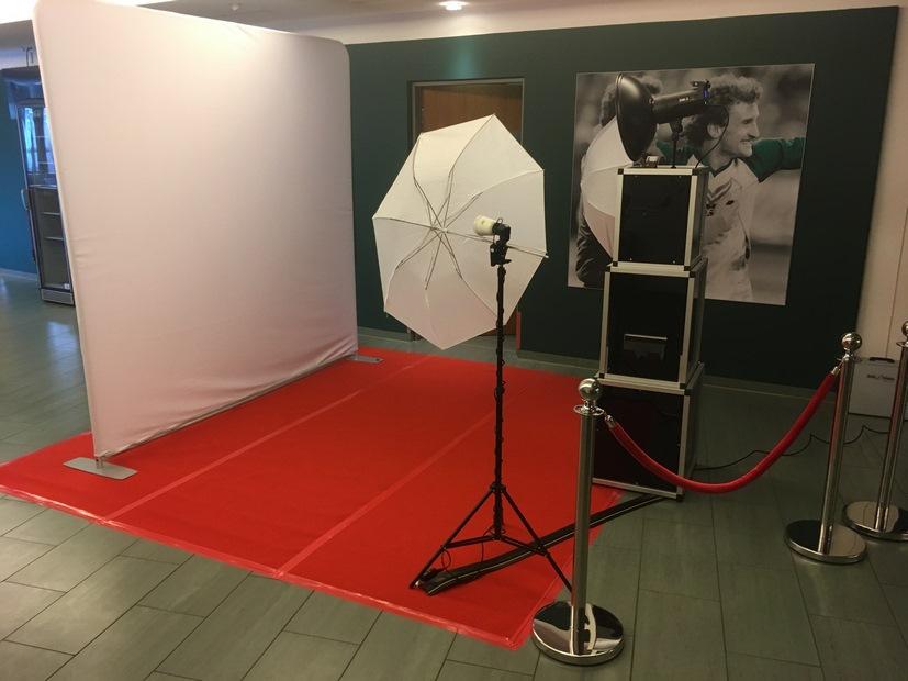 Fotobox für Betriebsfest