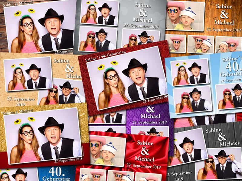 Fotobox Layout Vorlagen