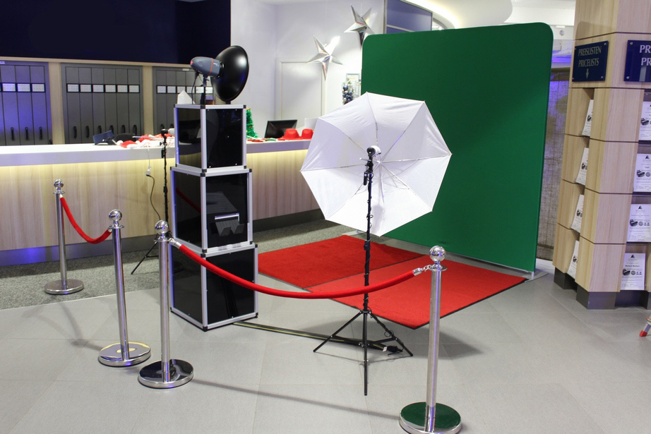 Photobooth mit Greenscreen Bremen