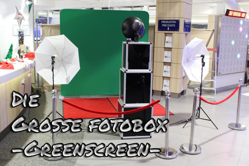 Greenscreen Fotobox mieten Bremen