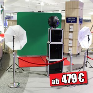 Die grosse Fotobox Greenscreen